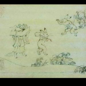 鳥獣人物戯画(模写)