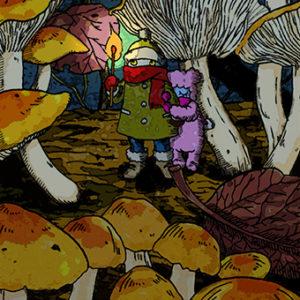 ヌックとモッコとキノコの森