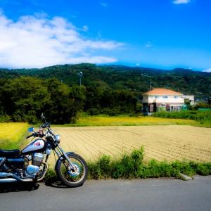 田舎とオートバイ