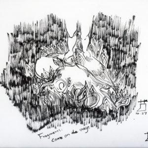 Fragmentsデッサン1
