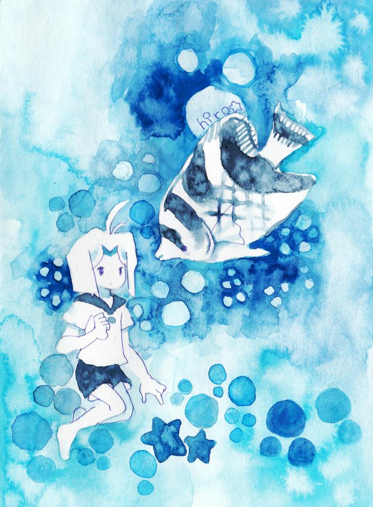 青とおさかな2
