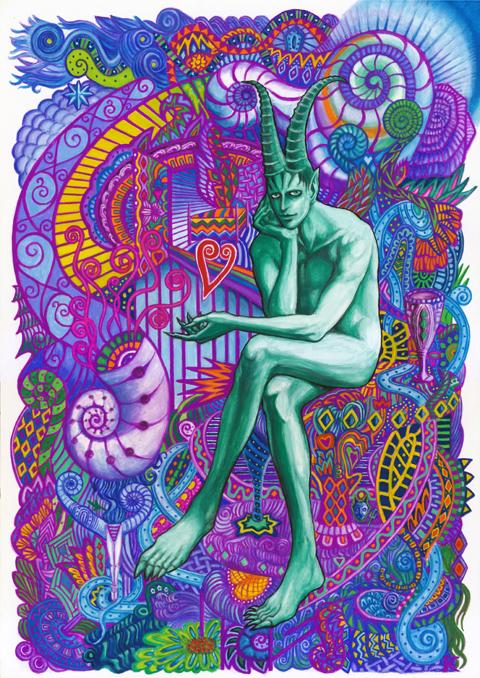夢に紛れ込む悪魔