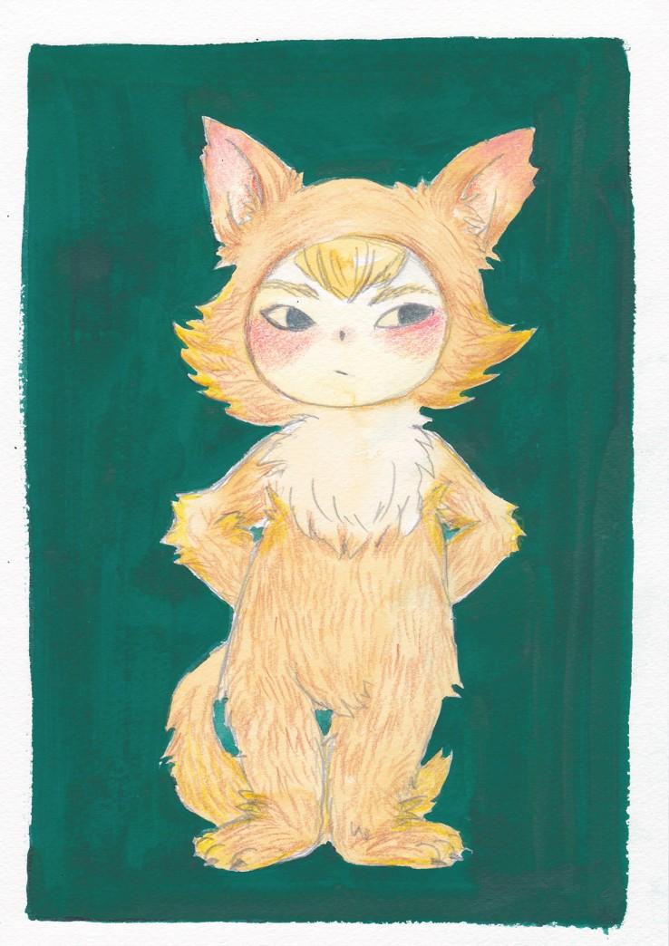 照れ屋のオオカミ少年