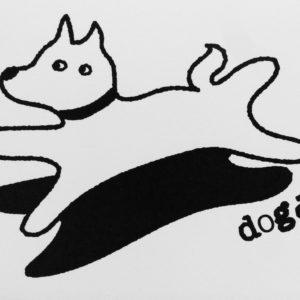 犬のポストカード2(全4種)