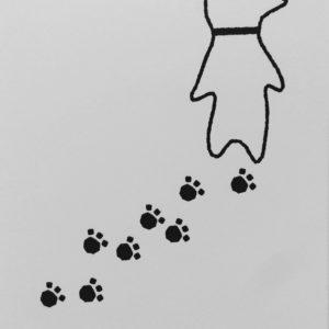 犬のポストカード4(全4種)