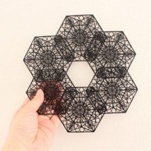 六角形の展開
