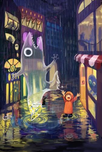 雨の日は嘘つき