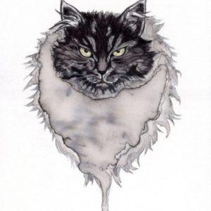 ネコライオン(黒)